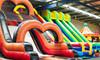 Inflatable Playground Kids Birthday Party