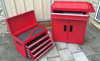 Tool Box & Cabinet Set