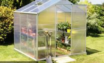 Aluminium & Polycarbonate Greenhouse