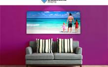 Personalised Panoramic Canvas Print