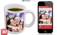Personalised Photo Mug with 8x8cm Image