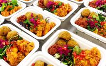 Organic Lunch Box or Medium Salad
