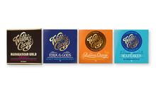 Four Bars of Artisan Chocolate