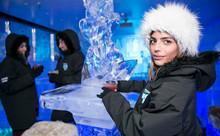 Entry & Drinks at Minus 5° ICE BAR