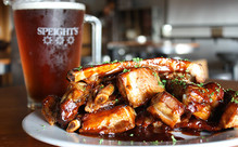 1kg of Sticky Pork Ribs & Jug of Speight's