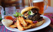 Juicy Lucy Gourmet Beef Burger