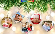 Personalised Ceramic Christmas Ornaments