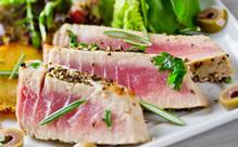5KG Frozen Packed Raw Tuna Steaks