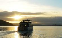 "Sunset Cruise on the ""Wahinemoe"""