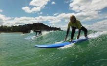 Two-Hour Surf Lesson on Matakana Coast