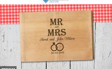 Personalised Bamboo Chopping Board