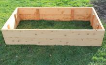 Macrocarpa Raised Garden Bed