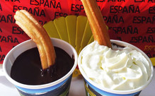 Two Traditional Hot Chocolates & Two Churros