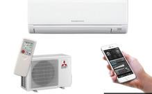 Mitsubishi GE25 Heat Pump with Wi-Fi Control