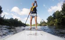 90-Min Mighty Waikato River SUP Tour