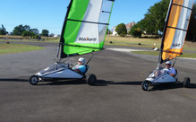 30-Minutes of Blokart Land Sailing