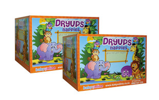 $39 for a Bulk Box of Dryups Nappies - Eight Sizes Available