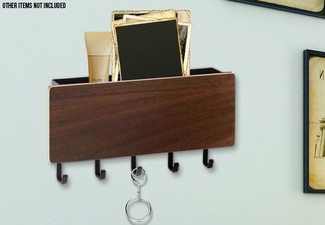 Wall Mounted Hanger Key Holder - Two Colours Available