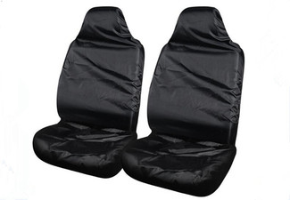 Water-Resistant Front Car Seat Covers - Option for Rear & Both Available