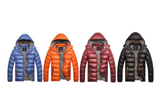 Puffer Jacket Range - Four Colours & Six Sizes Available