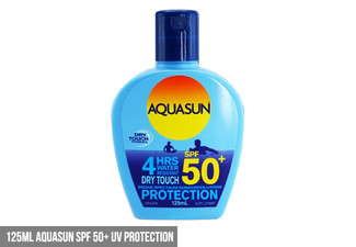 From $15 for a Range of DRI or Aquasun SPF 50+ Products