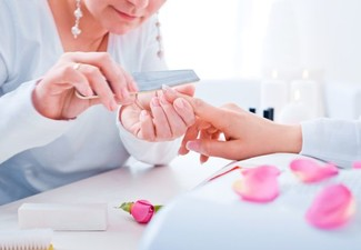 Deluxe Spa Manicure with Polish - Option for Manicure & Pedicure, & to incl. Skin Refresh Facial