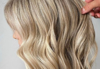 Half Head of Foils or Global Colour incl. Smart Bond Treatment, Full Style Cut & Blow Dry Finish