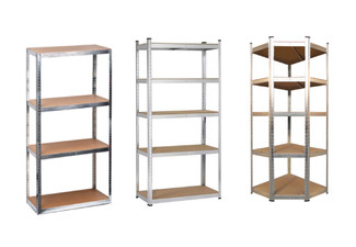 Bolt-Less Shelving Range - Three Options Available