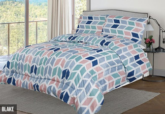 Three-Piece Queen Comforter Set - Option for King Available