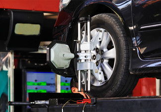 $49 for a Wheel Alignment, Front Wheel Balance, Tyre Rotation & Pressure Check (value up to $95)