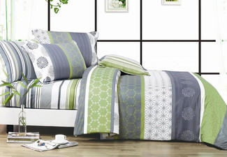 1000TC Dexter Duvet Cover Set Range - Four Sizes Available & Options for Extra Pillowcases with Free Delivery