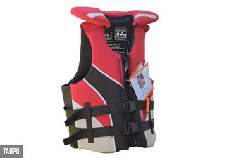 SafehaNZ Neoprene Life Jacket - Adult & Child Styles Available in Four Sizes with Free Delivery