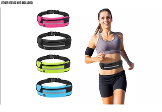 Sports Running Waist Storage Belt for Phone - Five Colours Available