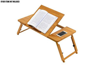 Foldable Bamboo Lifting Study Desk