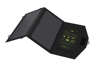 5V Folding Solar Panel Charger - Options for 10W, 12W & 20W