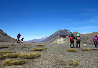 Tongariro Crossing Package for Two Nights for Two People incl. Return Transfers to Crossing & Use of Outdoor Spa Pool