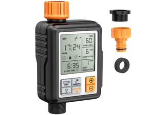 Programmable Garden Water Timer - Option for Two