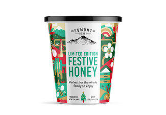 12 x 500g Festive Honey Limited Edition