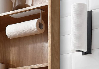 Adhesive Paper Roll Holder Rack - Two Colours Available