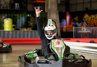 Adults Adventure Combo incl. Go Kart Race, One Round of Mini Golf & Two Games of Laser Tag - Junior Combo Available