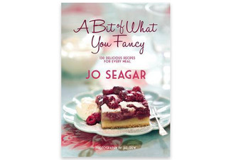 $18.99 for 'A Bit Of What You Fancy' Cookbook by Jo Seagar (value $42.99)