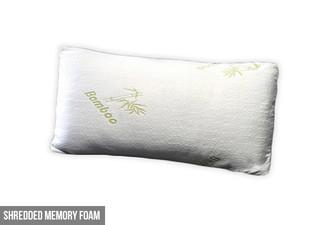From $29 for a Shredded Bamboo Memory Foam Pillow