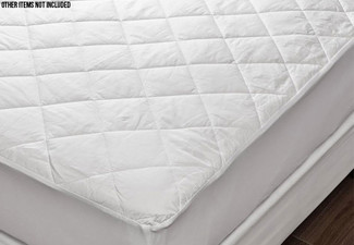 Premium Water-Resistant Mattress Protector - Five Sizes Available with Free Delivery
