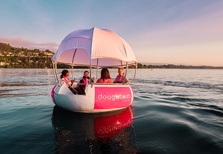 Doughboat Experience on Lake Taupo for Two Hours for Four People - Options for up to Six People