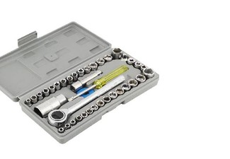 40-Piece Combination Socket Wrench Set