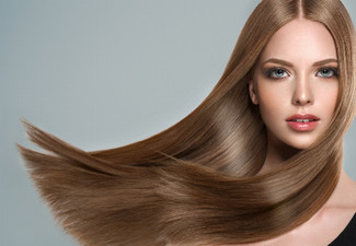 Keratin Hair Straightening Treatment incl. Take Home Treatment - Option for Two Treatments Available