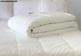 Alpaca Wool Single Duvet Inner - Options for Double, Queen or King Sizes