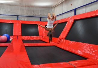 One-Hour Indoor Jump Session for One Person in Kerikeri - Option for up to Three People