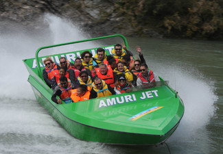 Jet Waiau Gorge One Adult Amuri Jet Ride Hanmer Springs - Option for a Child Pass
