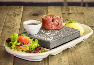 Taupo Stone-Grill Lunch or Dinner for Two People - Valid Monday to Friday Only